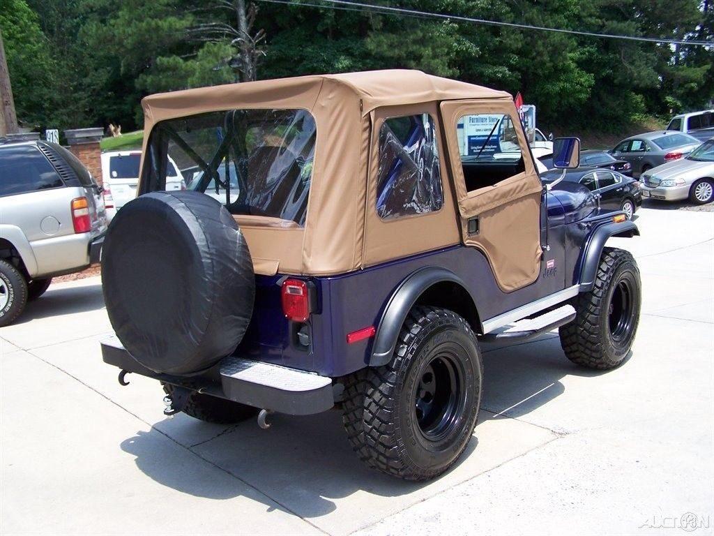 1980 Jeep CJ 4X4  LEVI