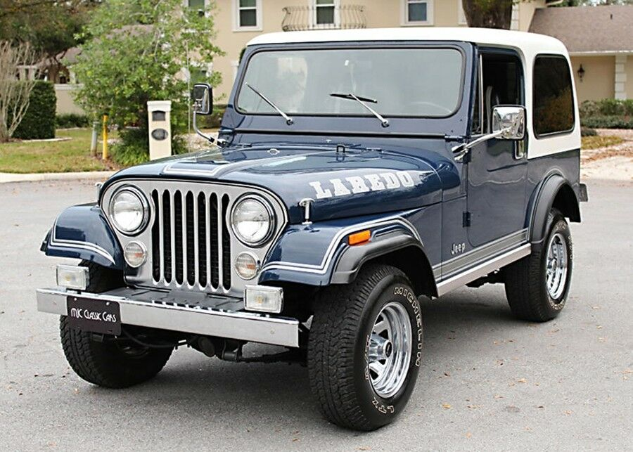 1981 Jeep CJ 7 Laredo 23K MILES for sale