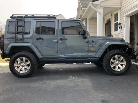 2014 Jeep Wrangler Unlimited Sahara. for sale