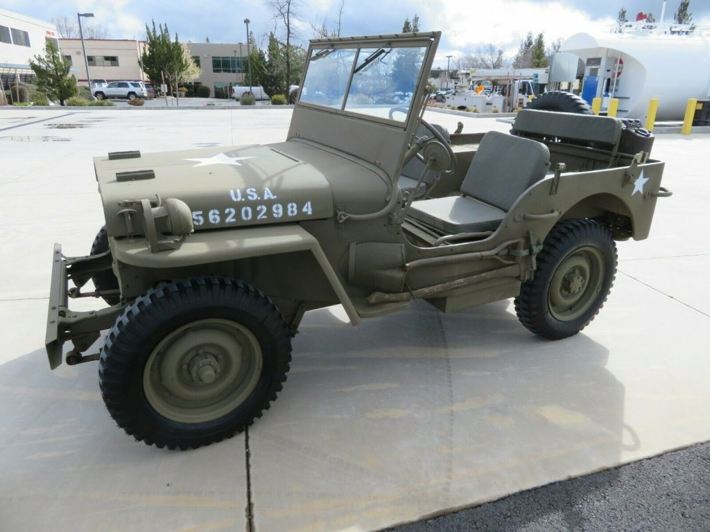 1944 FORD GPW Military JEEP WWII for sale