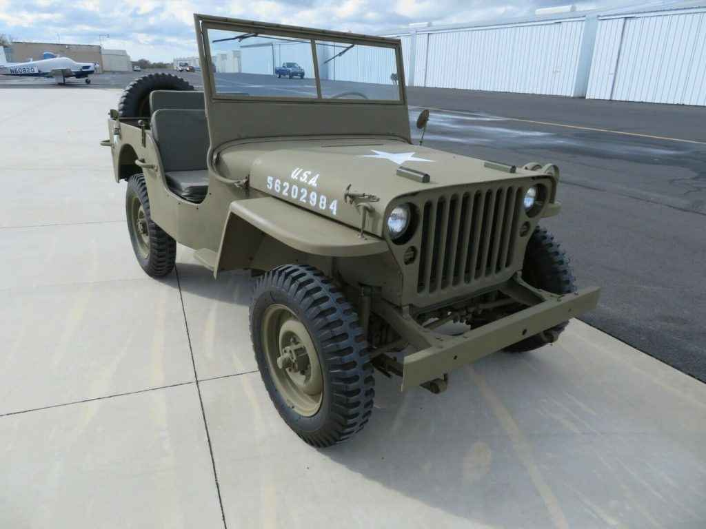1944 FORD GPW Military JEEP WWII