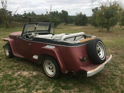 1950 Jeep Convertible Jeepster for sale