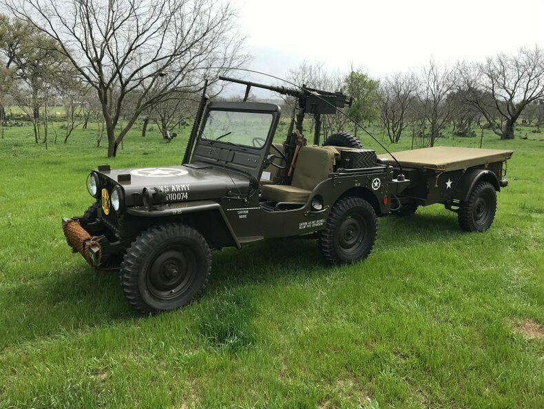 1951 Jeep Willys Military Restored to Perfection for sale