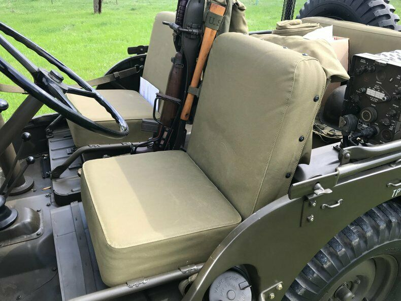 1951 Jeep Willys Military Restored to Perfection
