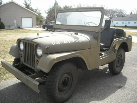 1955 Jeep CJ5 Military for sale