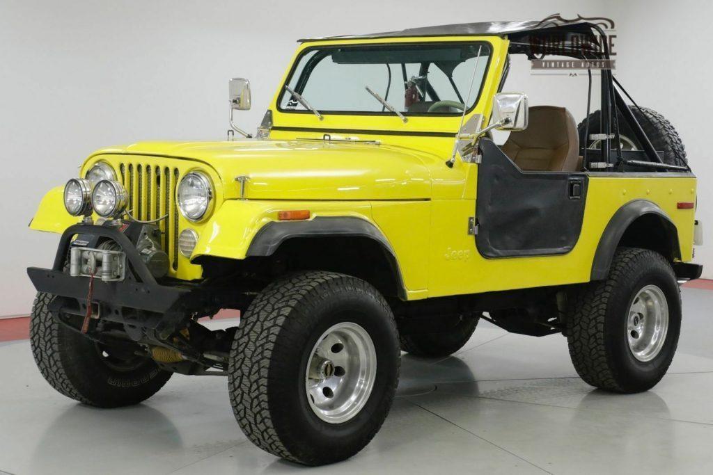1978 Jeep CJ 304 V8. 3 Speed Manua