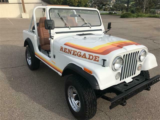 1980 Jeep CJ CJ7 RENEGADE