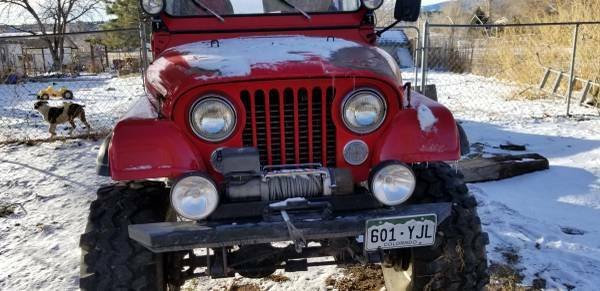 1984 Jeep CJ7 ifted on 38's