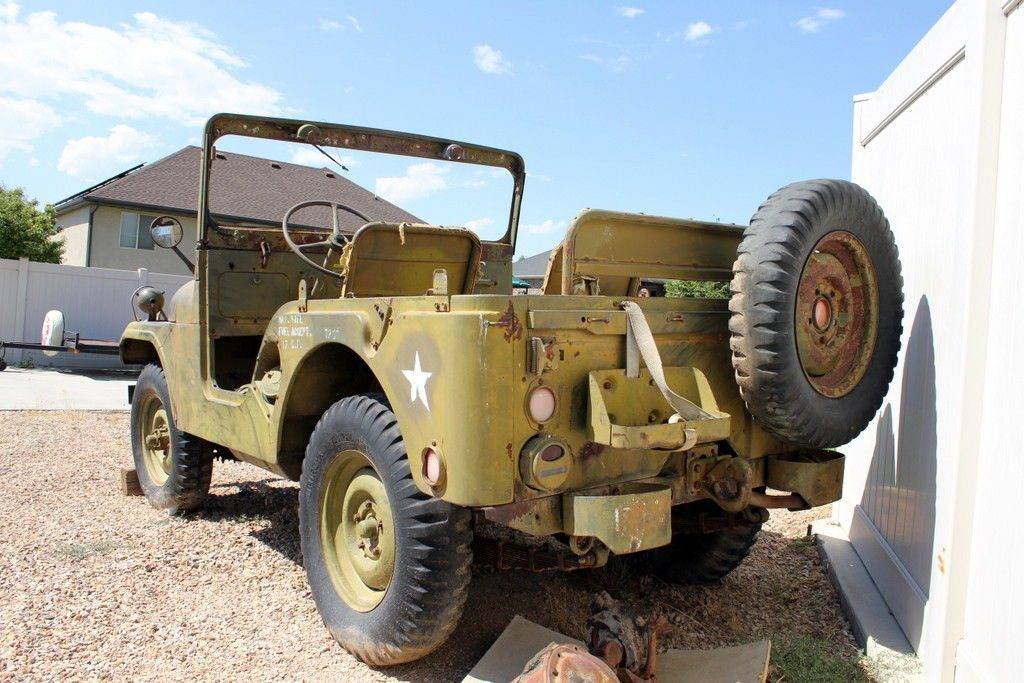 Jeep M38a1 Willys MD Military Jeep