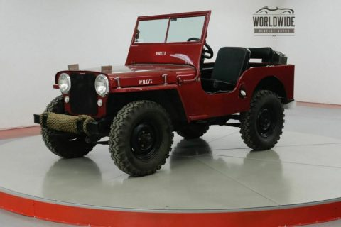 1947 Jeep Willys CJ2A Original Civil Defense JEEP for sale