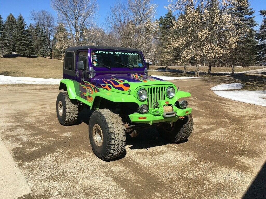 1976 Jeep CJ7 Offroad Rock Crawler for sale