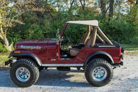 1979 Jeep CJ5 Renegade for sale