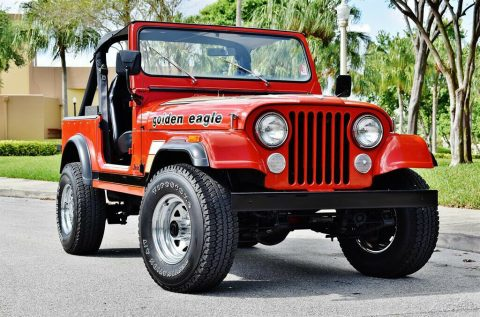 1984 Jeep CJ 4 Speed Manual 4 Wheel Drive for sale