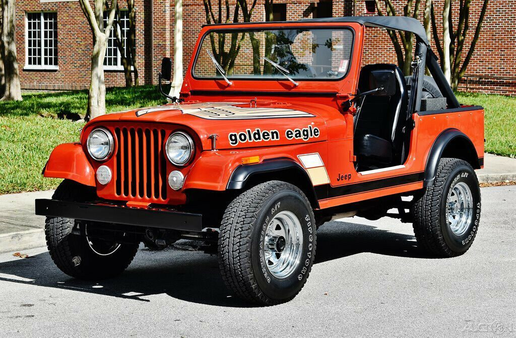 1984 Jeep CJ 4 Speed Manual 4 Wheel Drive