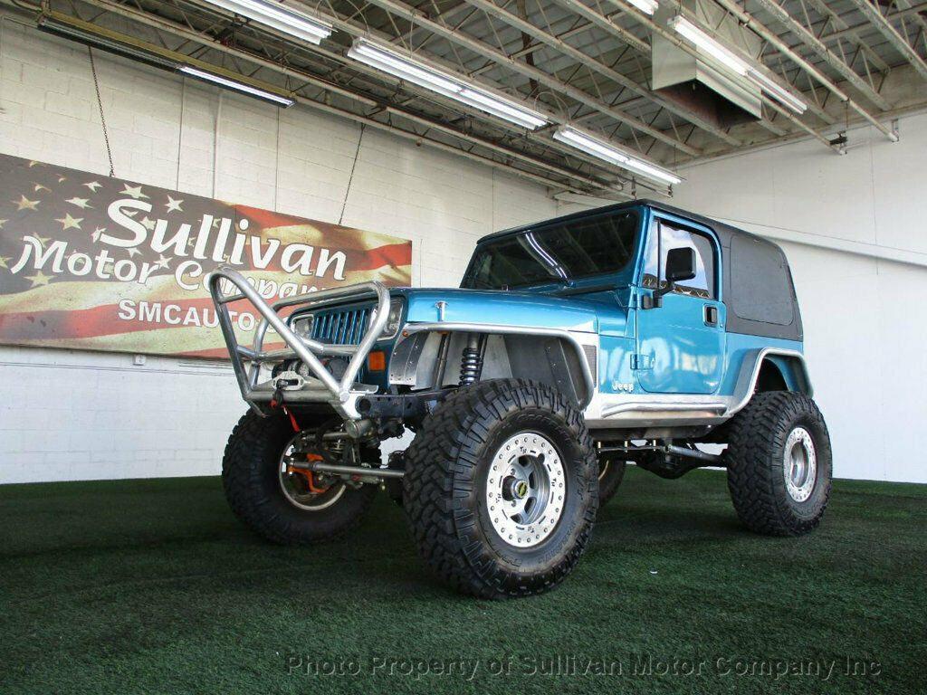 1992 Jeep Wrangler YJ for sale