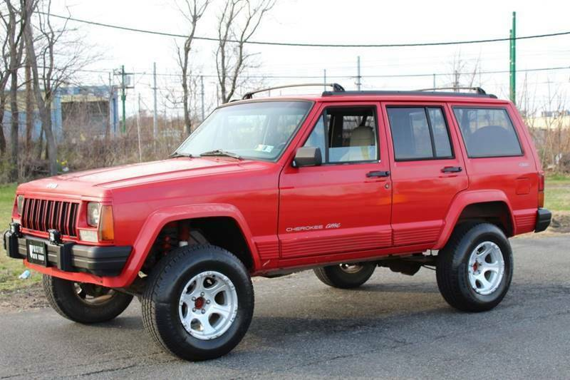 1996 Jeep Cherokee Classic edition