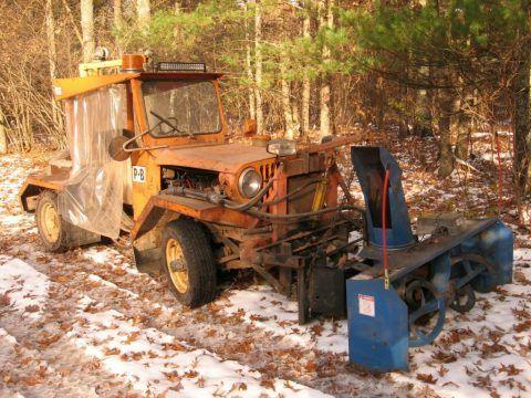 1975 Jeep CJ Loader  / Snowblower for sale