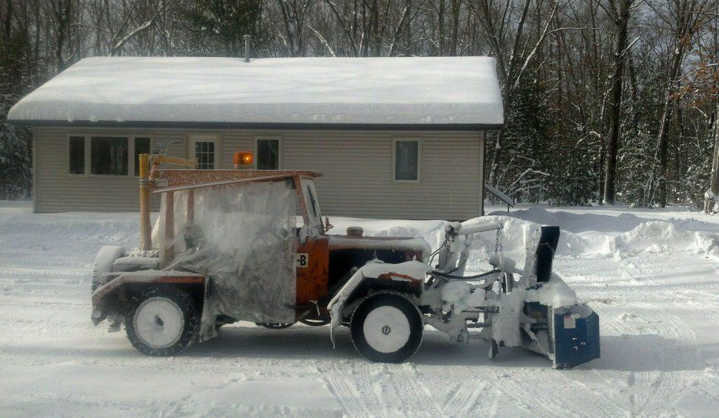 1975 Jeep CJ Loader  / Snowblower