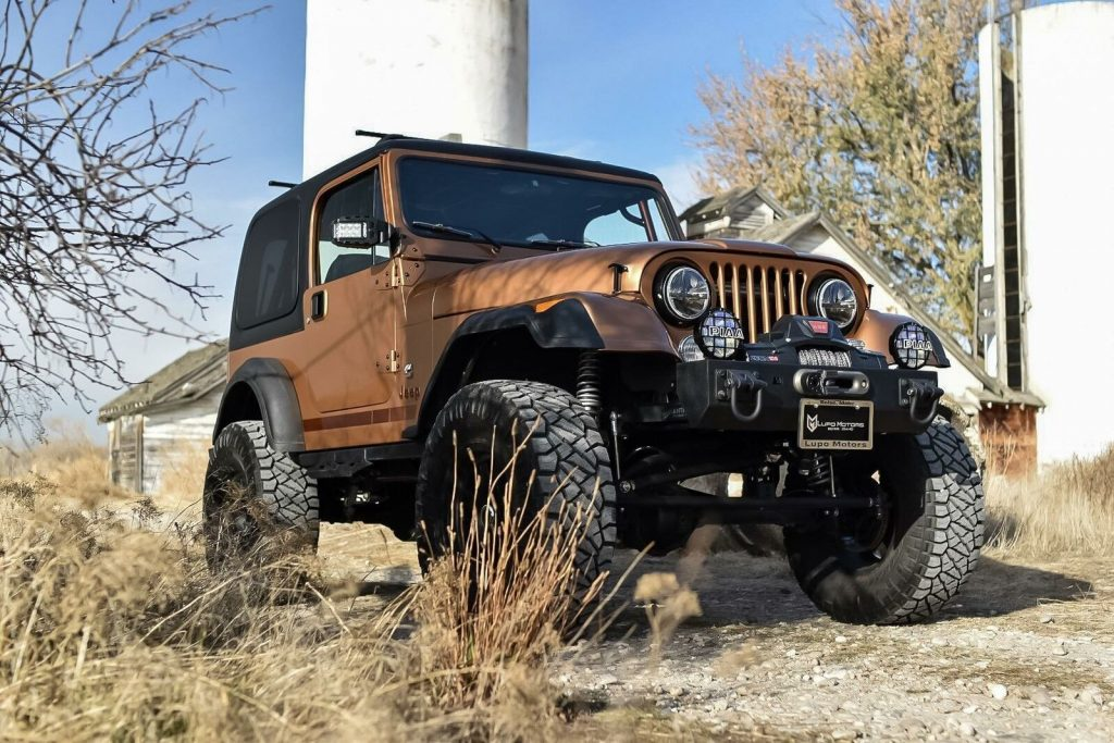 1976 Jeep CJ7  Turbo Diesel for sale