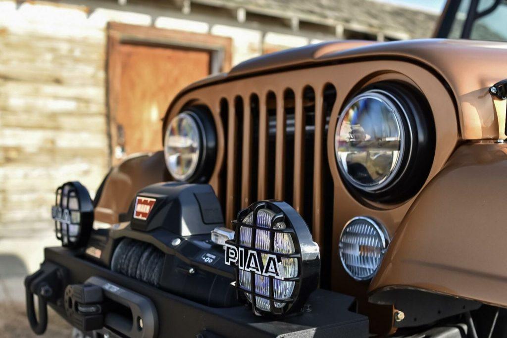 1976 Jeep CJ7  Turbo Diesel