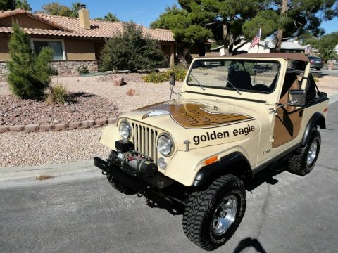 1979 Jeep CJ7  Golden EAGLE for sale