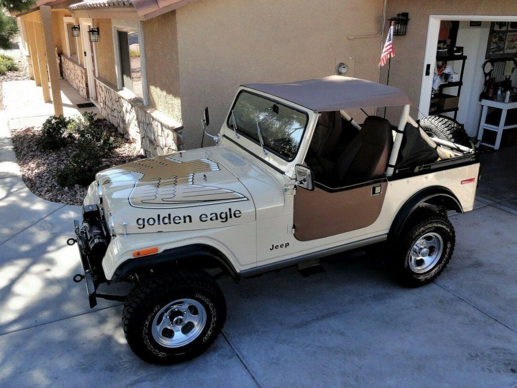 1979 Jeep CJ7  Golden EAGLE