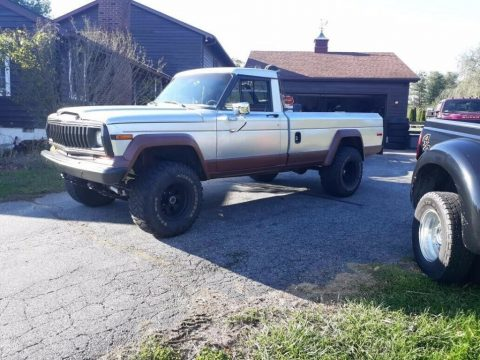 1983 Jeep J10 PICKUP for sale