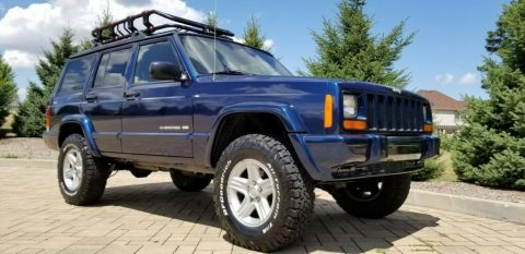 2001 Jeep Cherokee XJ! 4×4! Lifted! Limited Edition! for sale