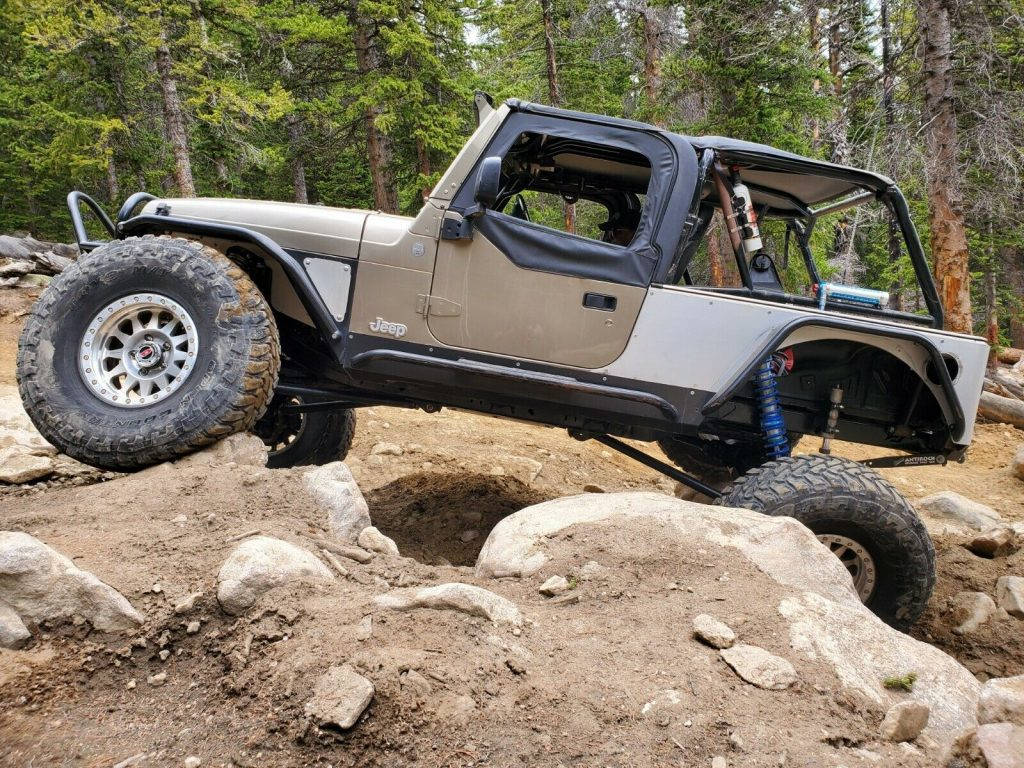 2004 Jeep Wrangler Rock Crawler for sale