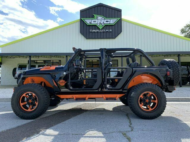 2018 Jeep Wrangler Sahara Harley Davidson Edition