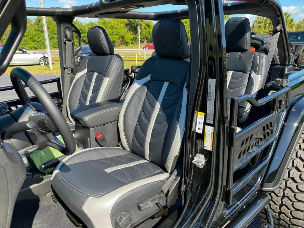 2019 Jeep Wrangler Custom Turbo Sahara Lifted Leather 24″s