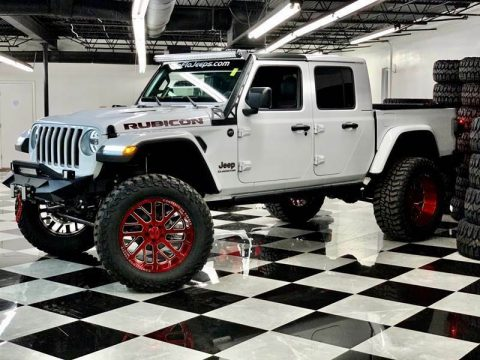 2020 Jeep Gladiator Rubicon 4×4 4dr Crew Cab 5.0 ft. SB for sale
