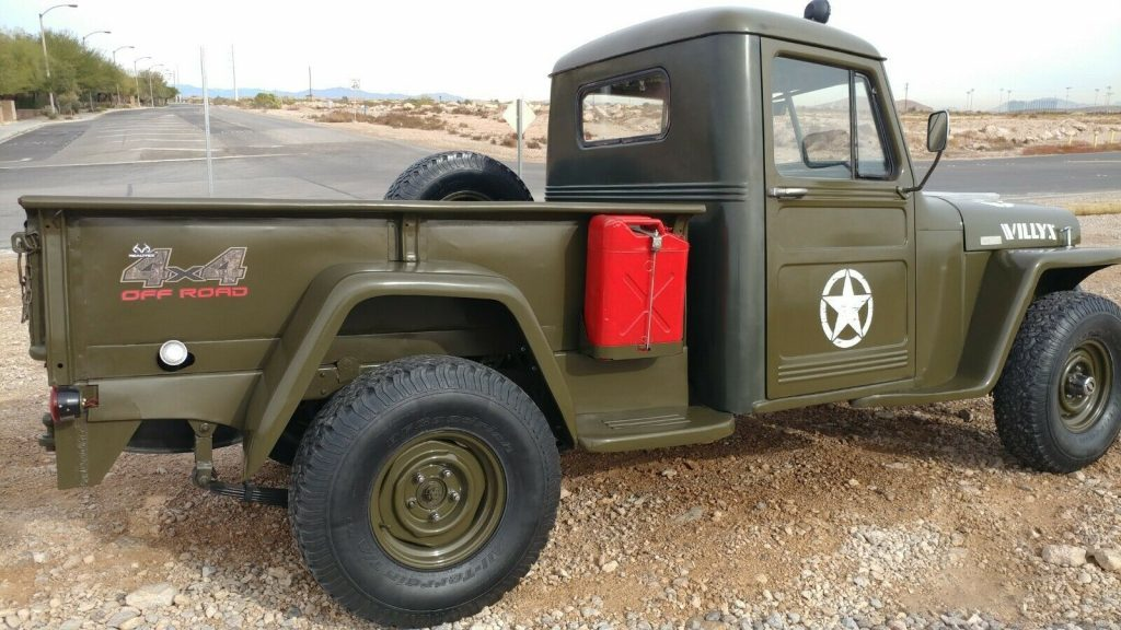 1945 Jeep Willys Truck, Pickup, Classic, Old, Historic
