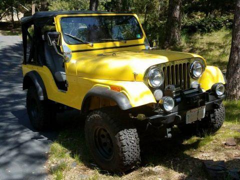 1979 Jeep CJ5 4×4 for sale