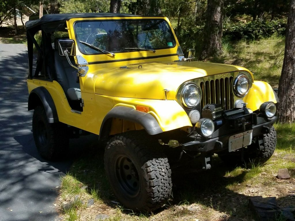 1979 Jeep CJ5 4×4 for sale