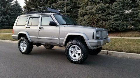 2001 Jeep Cherokee 62k Miles Garage Kept! Fresh Build Limited Edition for sale