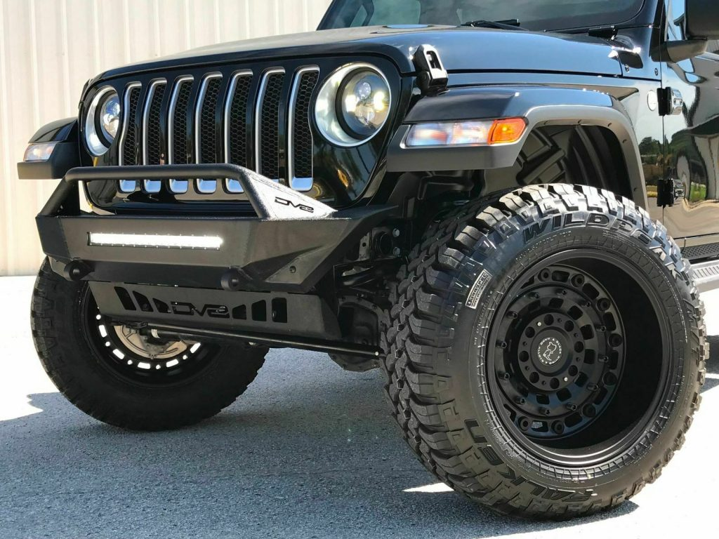 "2019 Jeep Wrangler JL Lifted Black Rhino Wheels 35""s LED's for sale"