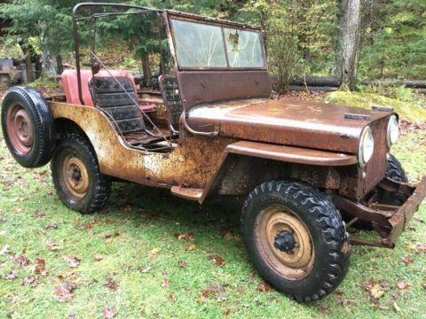 1948 Willys CJ2A Willys CJ 2A AGRIJEEP for sale