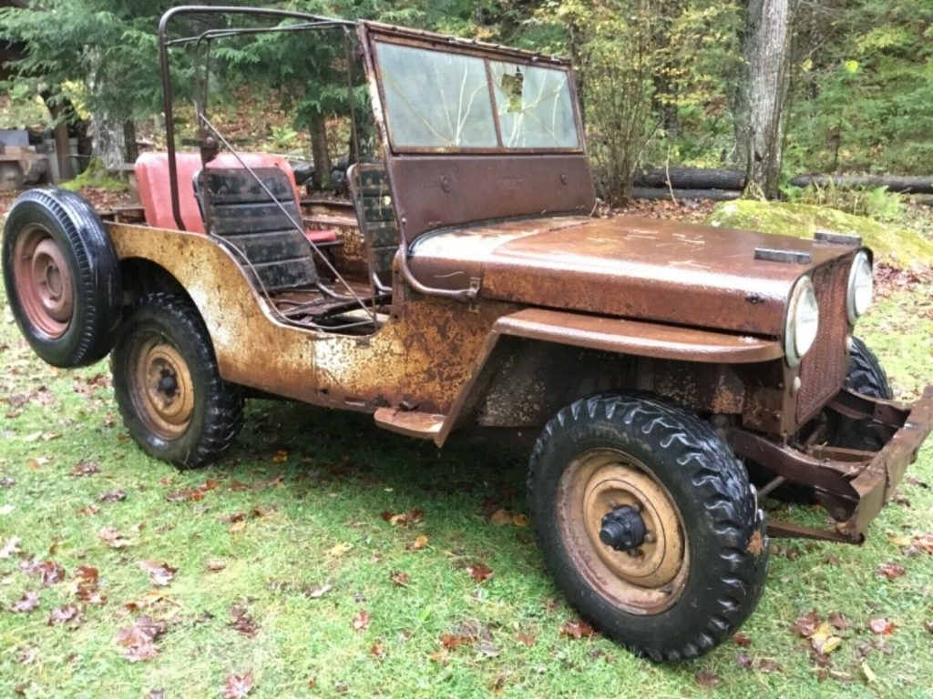 1948 Willys CJ2A Willys CJ 2A AGRIJEEP for sale