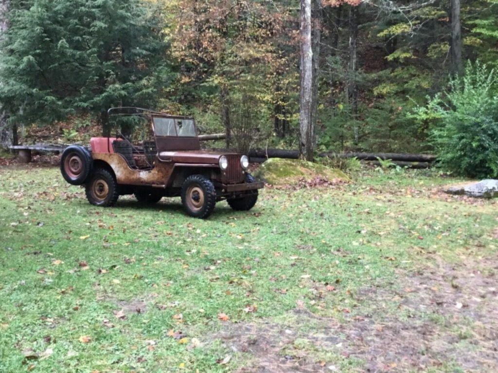 1948 Willys CJ2A Willys CJ 2A AGRIJEEP