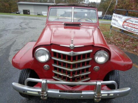 1950 Jeep Willys Jeepster CONVERTIBLE for sale