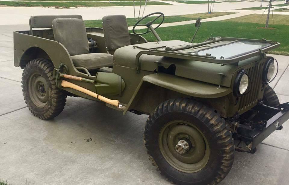 1953 Jeep Willys Overland MC M38