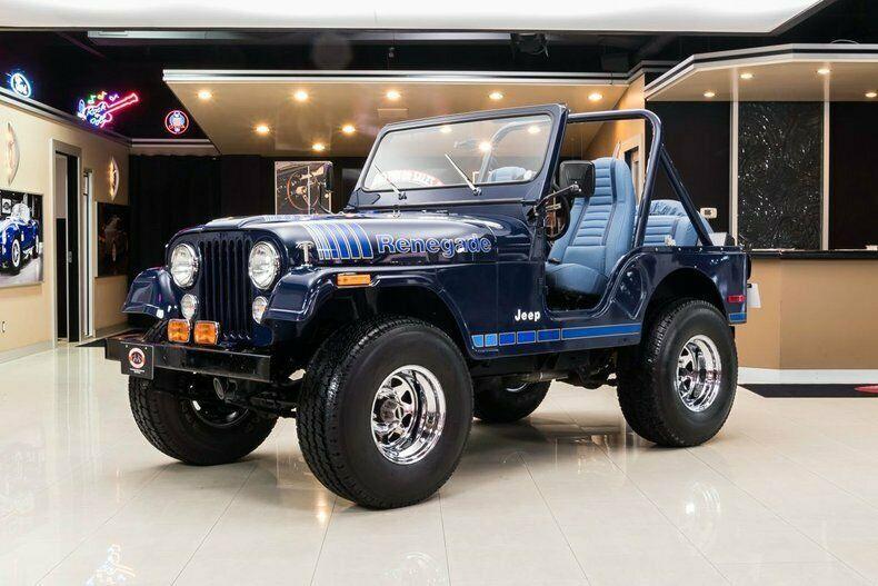1980 Jeep CJ 5 4X4 for sale