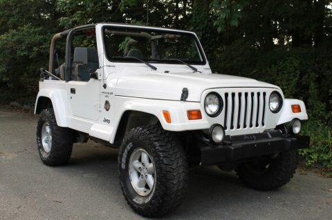1999 Jeep Wrangler Sahara for sale