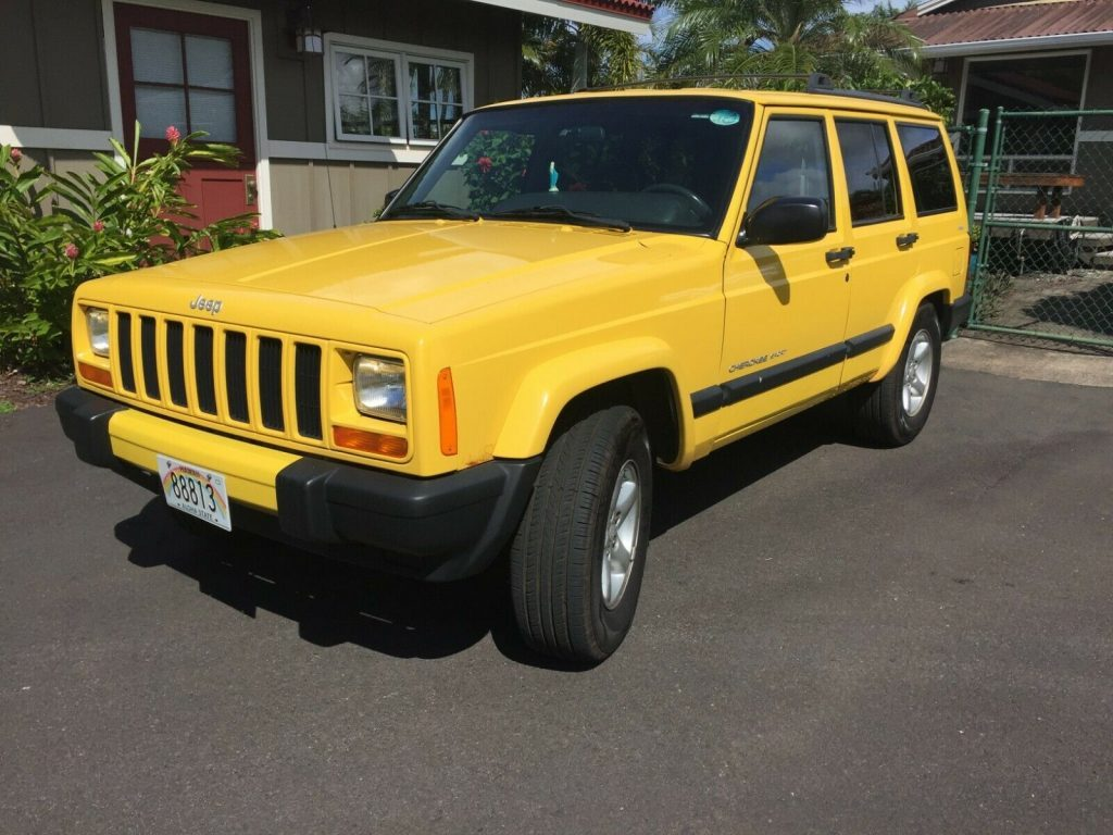 2001 Jeep Cherokee Sport Super Low 50K mi 4WD 4.0L 4Dr Clean