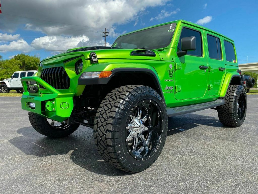 2019 Jeep Wrangler BAD FROG Sahara Custom Lifted LEATHER for sale