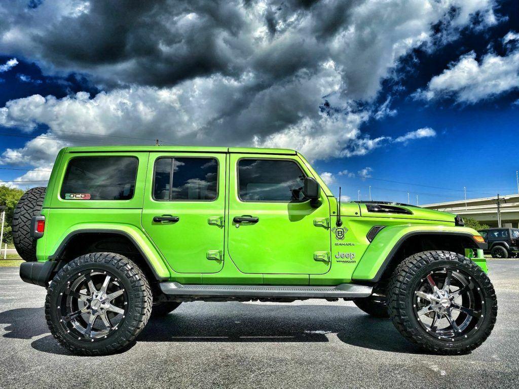 2019 Jeep Wrangler BAD FROG Sahara Custom Lifted LEATHER