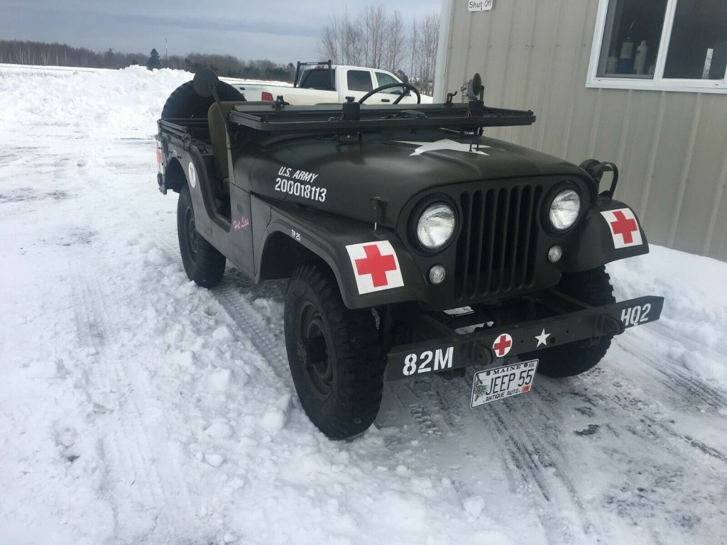 1955 Jeep CJ US Army M38A1 for sale