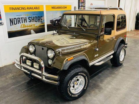 1978 Jeep CJ Golden Eagle Levis Edition  V8 for sale