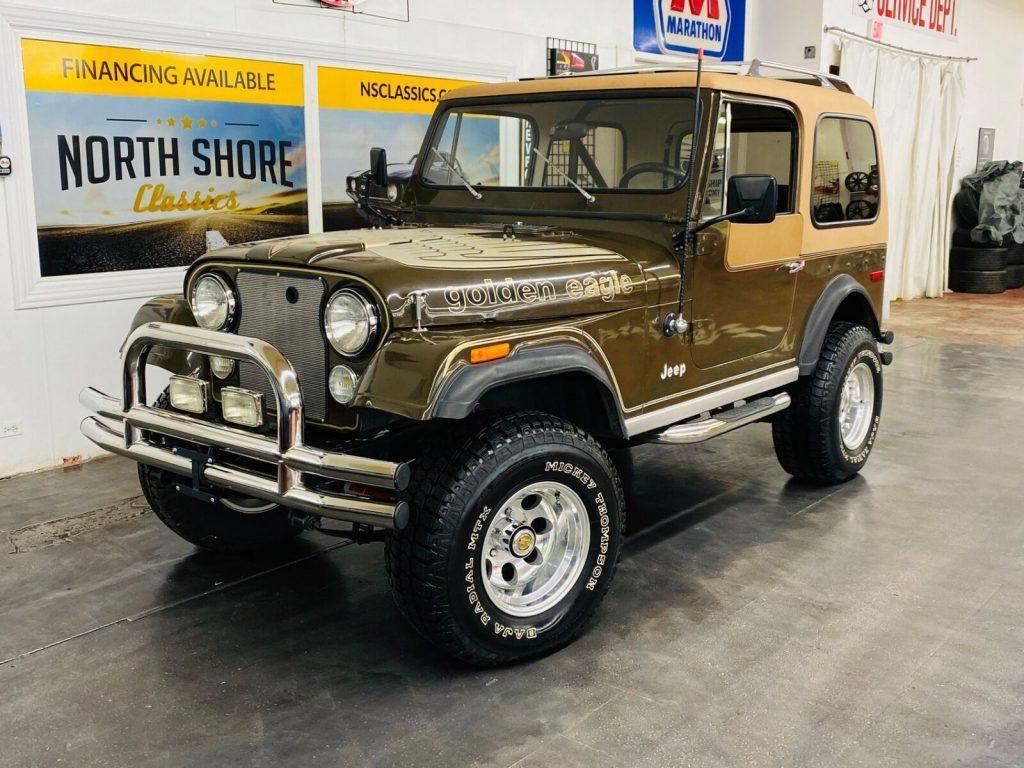 1978 Jeep CJ Golden Eagle Levis Edition  V8